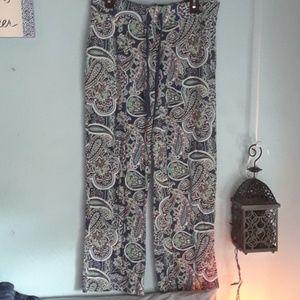 Lounge pants. Funky fun print. Size L